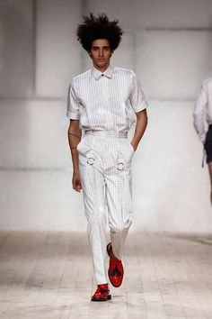 Male Fashion Trends: Luis Carvalho Spring-Summer 2017 - Moda Lisboa