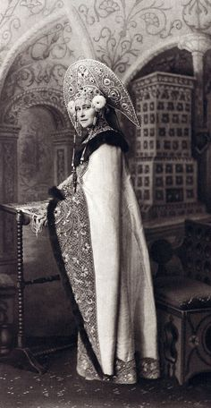 ..♥♥♥♥♥.. Grand Duchess Elizabeth Feodrovna dressed for the 1903 ball in the winter palace....053 by klimbims on deviantART..♥♥♥♥♥..