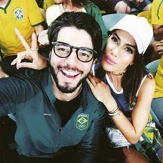 Mais um jogo com ela!! @camilacoelho já estou com saudade... #EuSouTimeBrasil #Rio2016 #OlympicGames