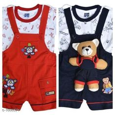Clothing Sets Elegant Printed Kid's Clothing Sets(Pack Of 2) Fabric: Cotton Hosiery Sleeves:Sleeves Are Included Size: Age Group (0 Months - 6 Months) -12 in Age Group (6 Months - 12 Months) -14 in Age Group (12 Months - 18 Months) -16 in Age Group (18 Months - 24 Months) -18 in Type: Stitched Description: It Has 2 Pieces Of Kid's Top & 2 Pieces Of Kid's Bottom Work: Printed/Embroidered Country of Origin: India Sizes Available: 0-6 Months, 6-12 Months, 12-18 Months, 18-24 Months   Catalog Rating: ★4.2 (679)  Catalog Name: Cute Elegant Printed Kids Clothing Sets Vol 6 CatalogID_217292 C59-SC1182 Code: 546-1666574-7371