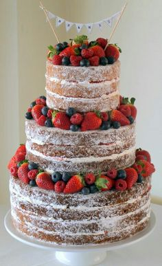 Creating A Better Naked Cake.