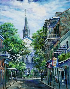 Dianne Parks - Cathedral at Orleans