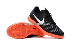 watch cb84d a4c07 Nike Men s MagistaX Finale II IC Indoor Soccer Football Shoes Black Red