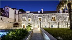 kőházak Horvátországban - Luxuslakások, házak Pergola, Mansions, House Styles, Home Decor, Decoration Home, Manor Houses, Room Decor, Outdoor Pergola, Villas