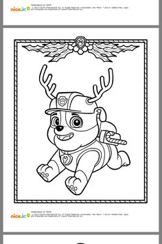 Coloriage The Paw Patrol Le hair and facial salon Aiguille durante Fêght revient du 12 Paw Patrol Coloring Pages, Quote Coloring Pages, Dog Coloring Page, Printable Coloring Pages, Coloring Pages For Kids, Adult Coloring, Coloring Books, Colouring Sheets, Paw Patrol