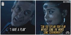 Clara Oswald. Seeing past the Doctor's bullcrap since September 2012.