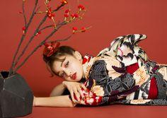 Yukata Kimono, Kimono Japan, Japanese Kimono, Drawing Exercises, Vintage Kimono, Oriental Fashion, Kawaii Girl, Korean Outfits, Drawing People