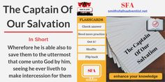 Illustration-Title-The Captain Of Our Salvation-flashcards-text-logo