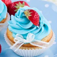 Image result for blue cupcakes
