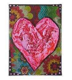 Tissue Heart Canvas
