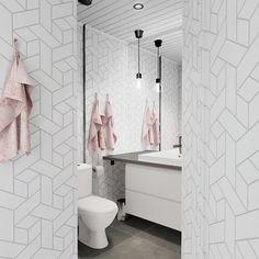 Check this Redecor design Bathroom Design Small, Pink Velvet, App, Modern, Check, Trendy Tree, Apps