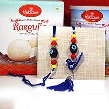 Rasgulla with Bhaiya Bhabhi Rakhi