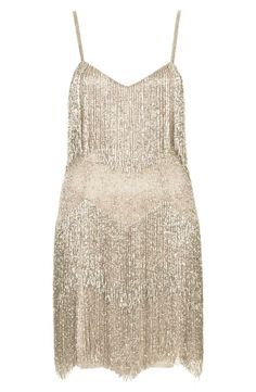 Adore this beaded fringe dress! Kate Moss for Topshop.