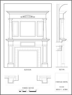 Build mantle facade over ugly brick