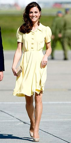 The Duchess of Cambridge attended the Queen's garden party at Buckingham Palace