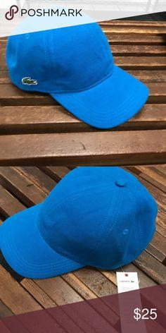 f42c9c64 Lacoste Cap - Men's Sapphire Blue (L) 100% Cotton cap by Lacoste.