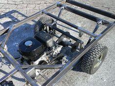 military mule half scale home build - Page 2 - DIY Go Kart Forum 8n Ford Tractor, Go Kart Kits, Three Wheel Bicycle, Go Kart Buggy, Atv Wheels, Go Kart Plans, Diy Go Kart, Drift Trike, Sand Toys