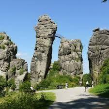 Bildergebnis für Externsteine, Teutoburger Wald