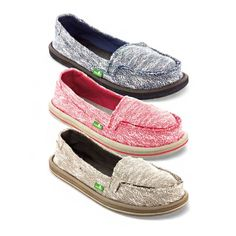 Keep those toezies cozy! The Shorty Yoga; available in three new colors & feet-uring a footbed made from real yoga mats - http://www.sanuk.com/womens-shorty-yoga-knit-yoga-mat-shoes/SWF1173,default,pd.html