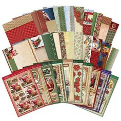 Hunkydory Christmas Traditions Luxury Die Cut By. Craft Supplies From Amazon  ...