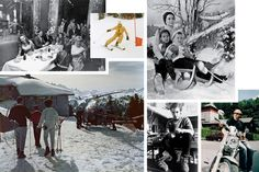 gstaad ski resort   ... Ski Club in 1971; a helicopter lands above Gstaad, captured in 1961 by