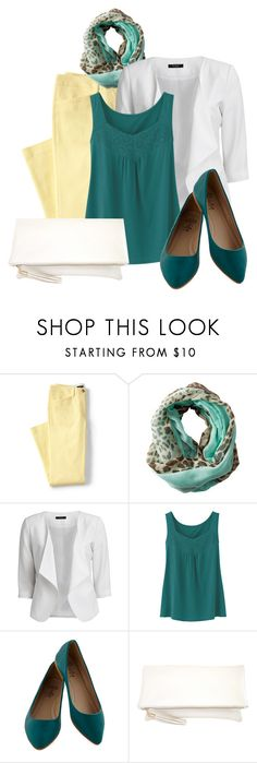 Teal Shoes by jensmith1228 on Polyvore featuring Uniqlo, VILA, JNB and Gabriella Rocha
