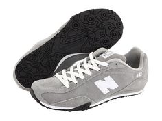 New Balance Classics CW442 Grey - Zappos.com Free Shipping $50 - Cute with black leggings and a sweatshirt!