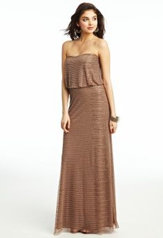Bugle Bead Prom Dress from Camille La Vie and Group USA