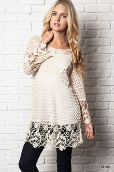 Sweet Nothing Tunic - Chic Boutique