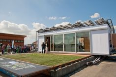 DALE, short for Dynamic Augmented Living Environment, is this year's U.S. Department of Energy Solar Decathlon entry for the SCI-Arc/Caltech team. Made of two movable, prefabricated modules that open to allow the outdoors in, DALE celebrates the active California lifestyle through its dynamic architecture.