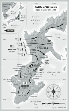 Great Military Battles, A History of Warfare Ww2 Facts, Military Tactics, Military Drawings, Alternate History, Okinawa, History Facts, Countries Of The World, Military History, Marine Corps