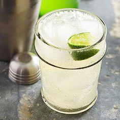 Palomas: (4 servings) 8 oz tequila, 2 oz lime juice, pinch salt, ice, 12 oz grapefruit-flavored carbonated soda (Squirt)
