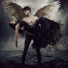 Fallen - based on the Fallen series by Lauren Kate. Don't know if this is a real poster or fanmade but the movie is real and will be released in Fall Haven't read the books yet but it's on my list. Dark Fantasy Art, Fantasy Magic, Fantasy Kunst, Fantasy Men, Fallen Series, Fallen Book, Saga Fallen, Male Angels, Angels And Demons