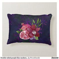 Double-sided purple lilac modern batik style fruit accent pillow Soft Pillows, Accent Pillows, Throw Pillows, Hallway Console, Batik Pattern, Purple Lilac, Pink, Pillows Online, Home Decor Online