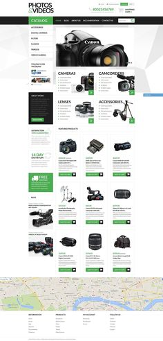 14+ SHOCKING! Electronics Store Shopify Themes! No. 3 WILL Make Your EYES EXPLODE! - Photo Video Technologies