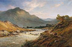 "Alfred de Breanski Snr. - ""Morning in a Selkirk valley"" - NEW fine art reprint"