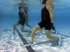 Strenght and Power Water Workout by Karen Westfall - YouTube
