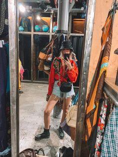 Windbreaker Vintage Seda Red & Blue Red And Blue, Shop Now, Windbreaker, Shopping, Vintage, Online Thrift Store, Women's Work Fashion, Vintage Comics, Anorak Jacket