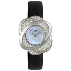 e6b2ae4eb54 Relógio Tissot Women s T03112580 T-Trend Collection Precious Flower Diamond  Watch  Tissot Relógio