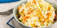 Coleslaw saláta könnyedén | LikeNews Magyarország Coleslaw, Cauliflower, Cabbage, Snacks, Vegetables, Food, Appetizers, Coleslaw Salad, Cauliflowers