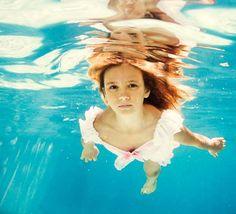 Underwater Fairytale Photography - Little Girl Mermaid Imagery by Elena Kalis (GALLERY)