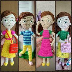 Caleb Und Sophia, Caleb Y Sofia, Crochet Yarn, Crochet Toys, Rapunzel, Crochet Ideas, Crochet Patterns, Jehovah's Witnesses, Amigurumi Doll