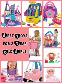 What are the best toy ideas for a 2 year old girl? Find out what toys were popular with my niece and my own 2 year old this age.