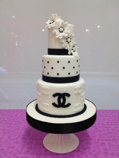 Chanel - Torte di compleanno fashion