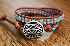 Wrap bracelets are fun and easy to make!