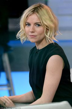 Sienna Miller admits she's been having nightmares that she isn't sexy enough for her role in Cabaret | Daily Mail Online