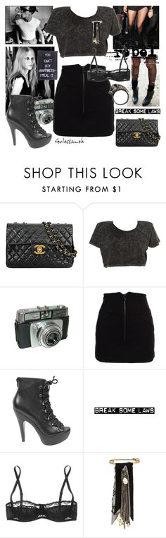 """rock it"" by golestaneh ❤ liked on Polyvore featuring Chanel, Market, Alexander Wang, Steve Madden, Dolce&Gabbana, Marquis & Camus, Iosselliani, ankle boots, chanel and 2009"