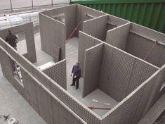 Paneles ultralivianos - Noticias de Arquitectura - Buscador de Arquitectura. Un sistema constructivo de placas de poliestireno expandido permite resolver en forma integral la mampostería, estructura y aislaciones. (Lun, 13 Ene 2014)