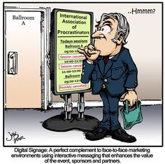 A little audio visual humor! #FreemanAVCanada #audiovisual #cartoon #digitalsignage