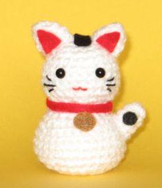Gato chino amigurumi